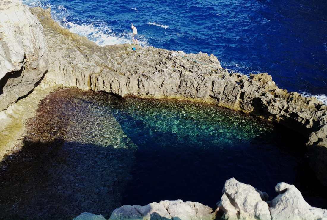 Blue Hole Gozo Malta