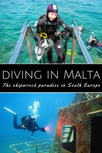 Diving in Malta - shipwreck paradise in South Europe
