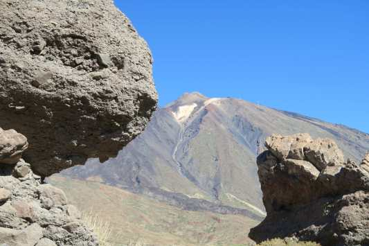 Peak of Teide Volcano Teide National Park Tenerife Canary Islands
