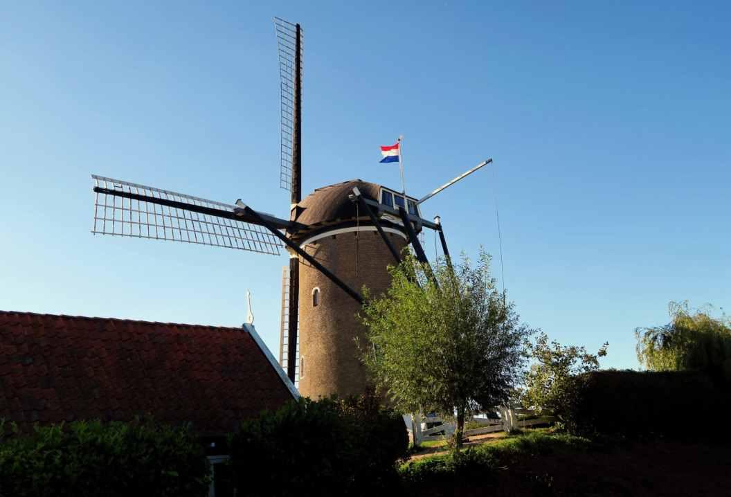 Brouwhaven Windmill Zeeland Netherlands