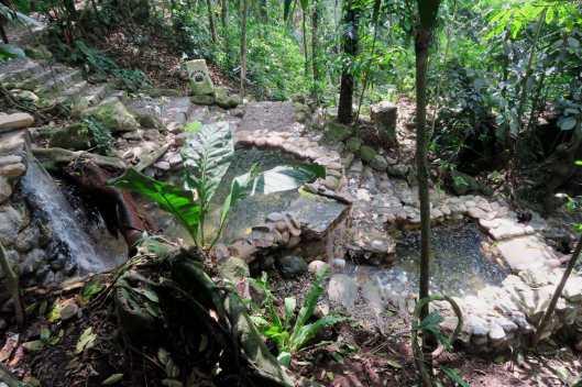 Luna Jaguar Mayan Hot springs Copan Honduras