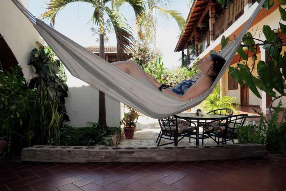 Siesta at Don Udo Hotel Copan Honduras