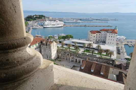 Bell Tower view Split Croatia