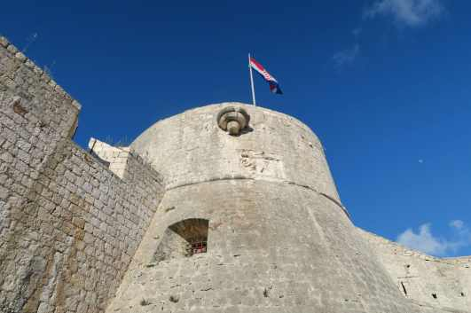 Spanish Fortress Hvar Croatia