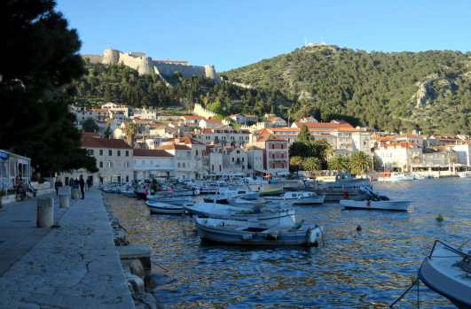 Port of Hvar Croatia
