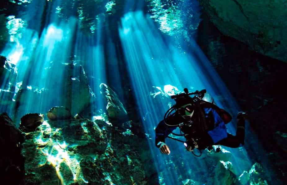 Diving in Playa del Carmen Mexico  - cheapest diving destinations