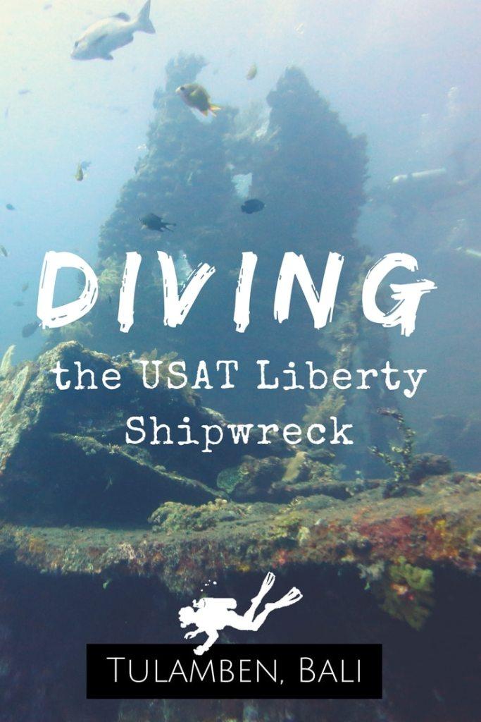 USAT Liberty Shipwreck Diving in Tulamben Bali Indonesia