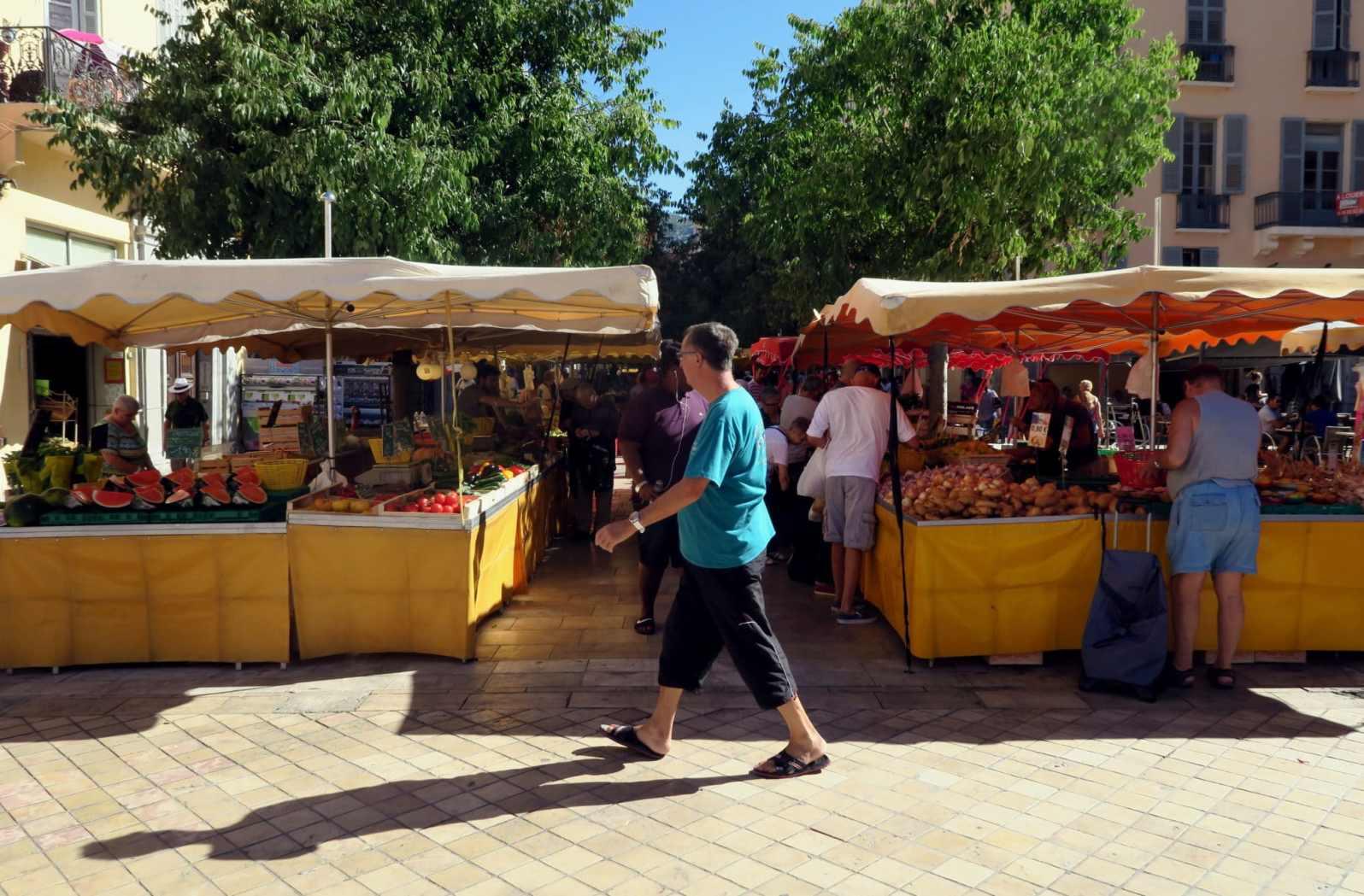 Food Market Lafayette Avenue Toulon France