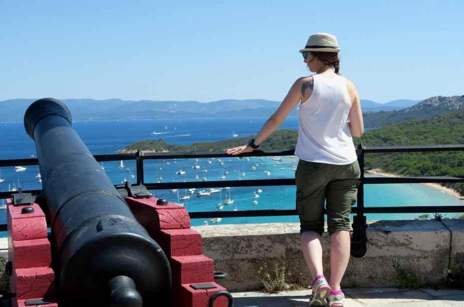 Fort St Agathe Porquerolles  - Road trip côte d'azur