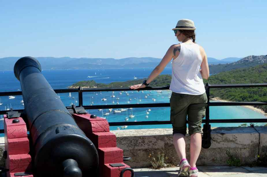 St Agathe Fortress Porquerolles Island French Riviera