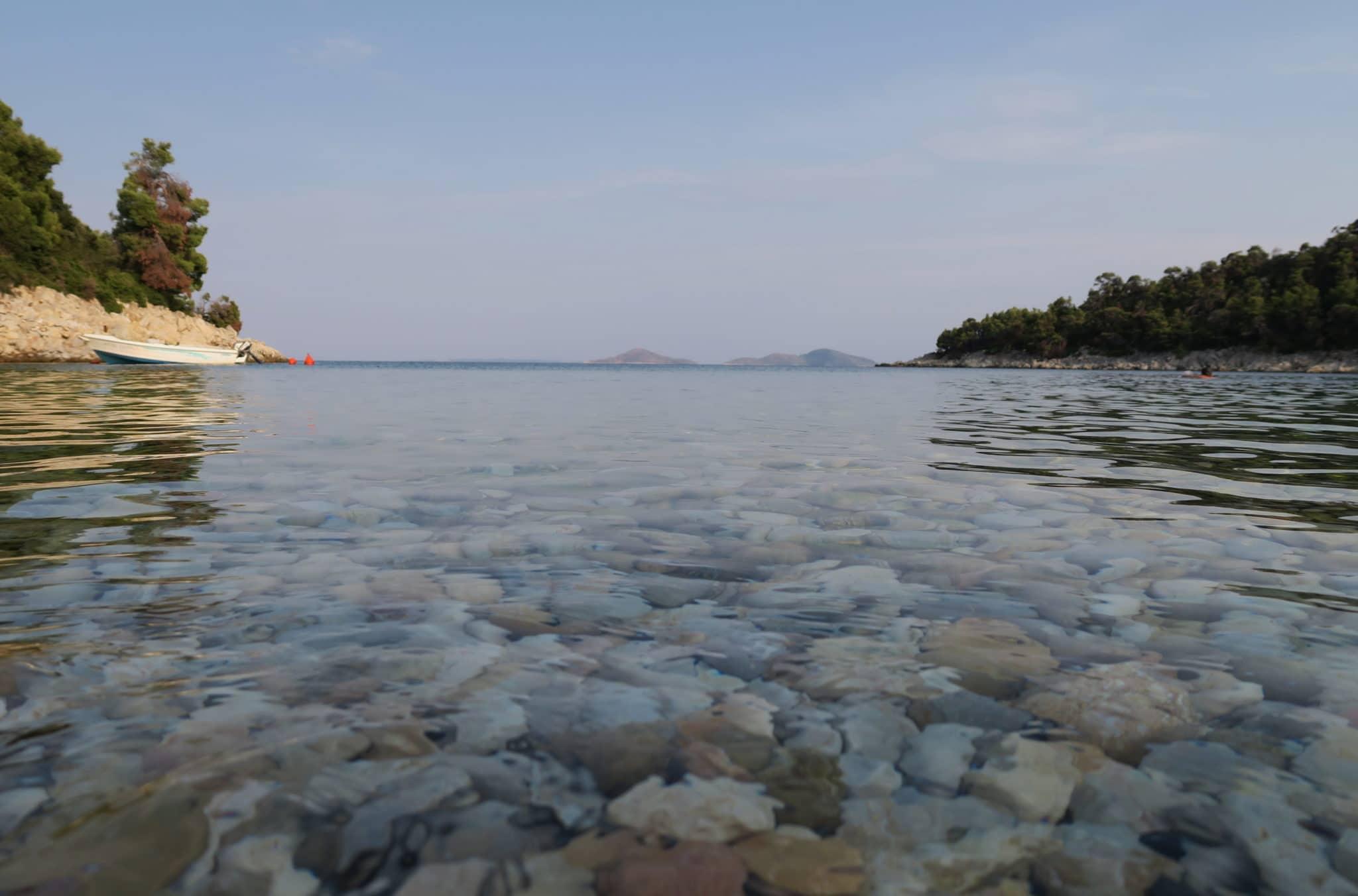 Leftos Gialos Beach Exploring Alonissos Island Greece