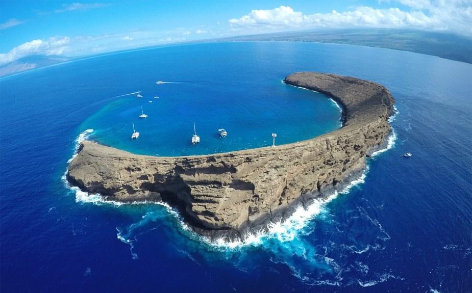 Molokini Crater Maui Hawaii - Fun things to do in Hawaii