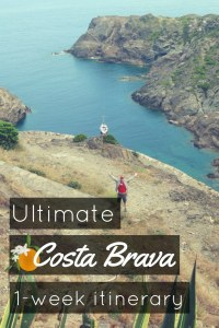 Costa Brava Itinerary Scuba diving Catalonia Spain