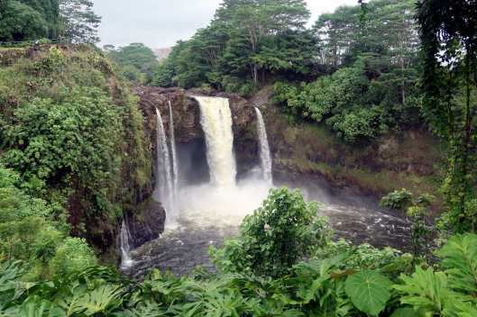 Rainbow Falls Hilo Big Island Hawaii