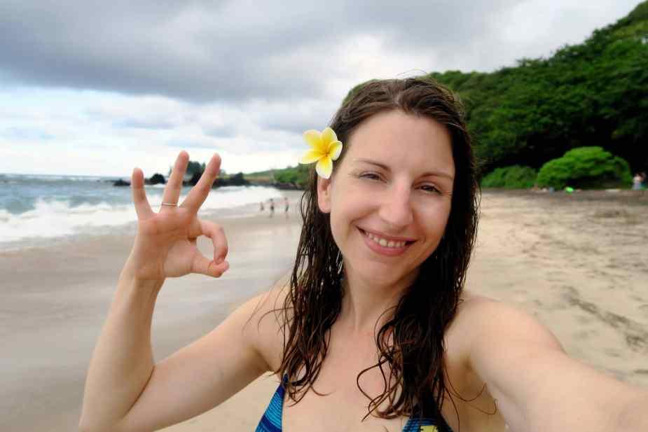 Hamoa Beach Road to Hana Maui Hawaii