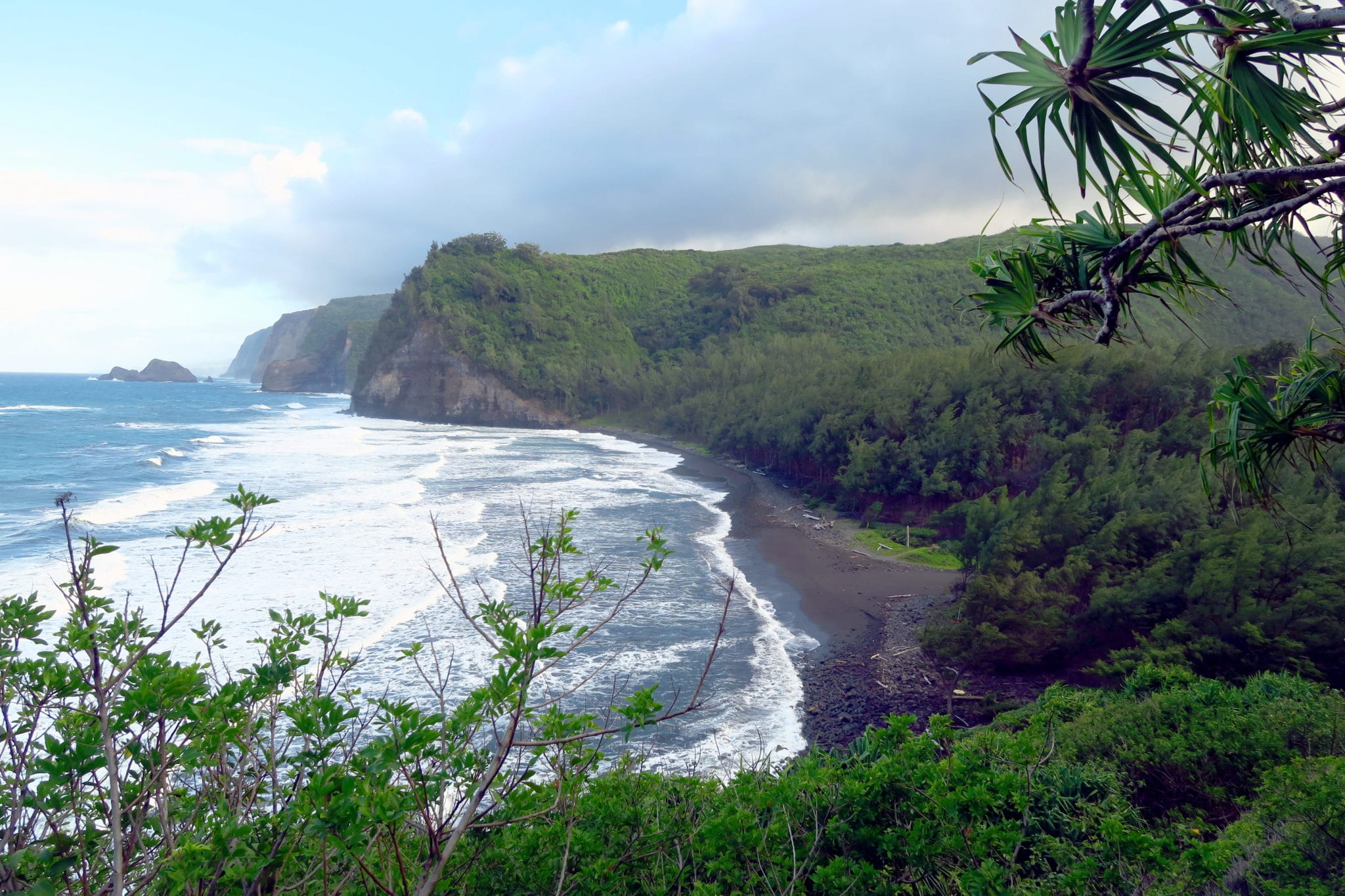 Polulu Valley Big Island Hawaii