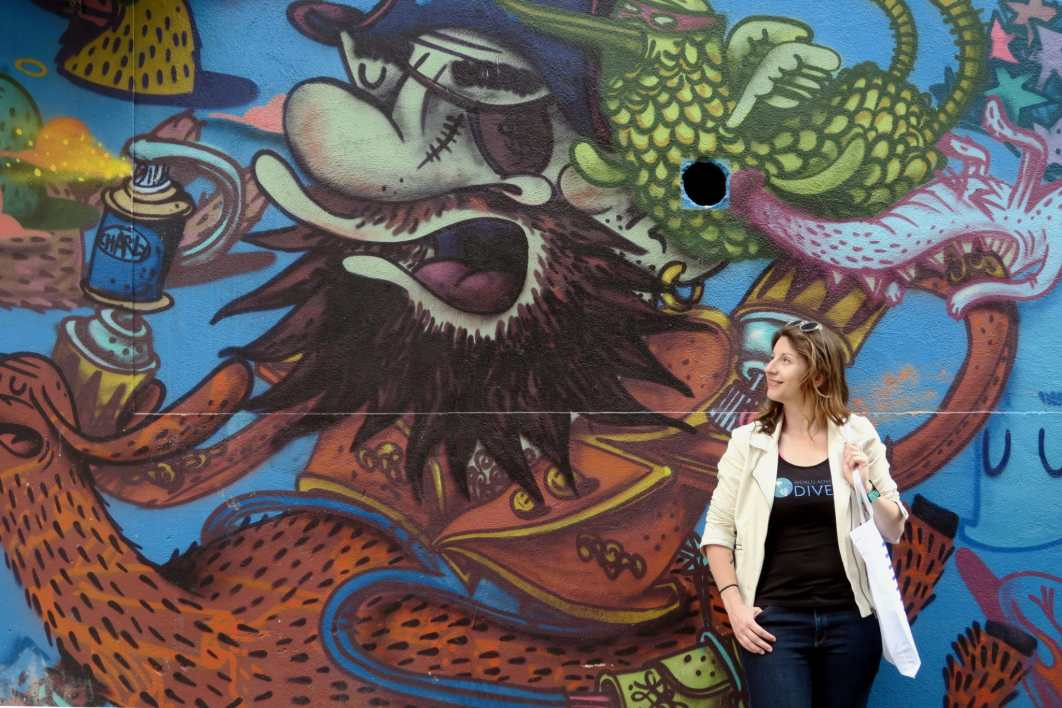 Florine Street art Sète France