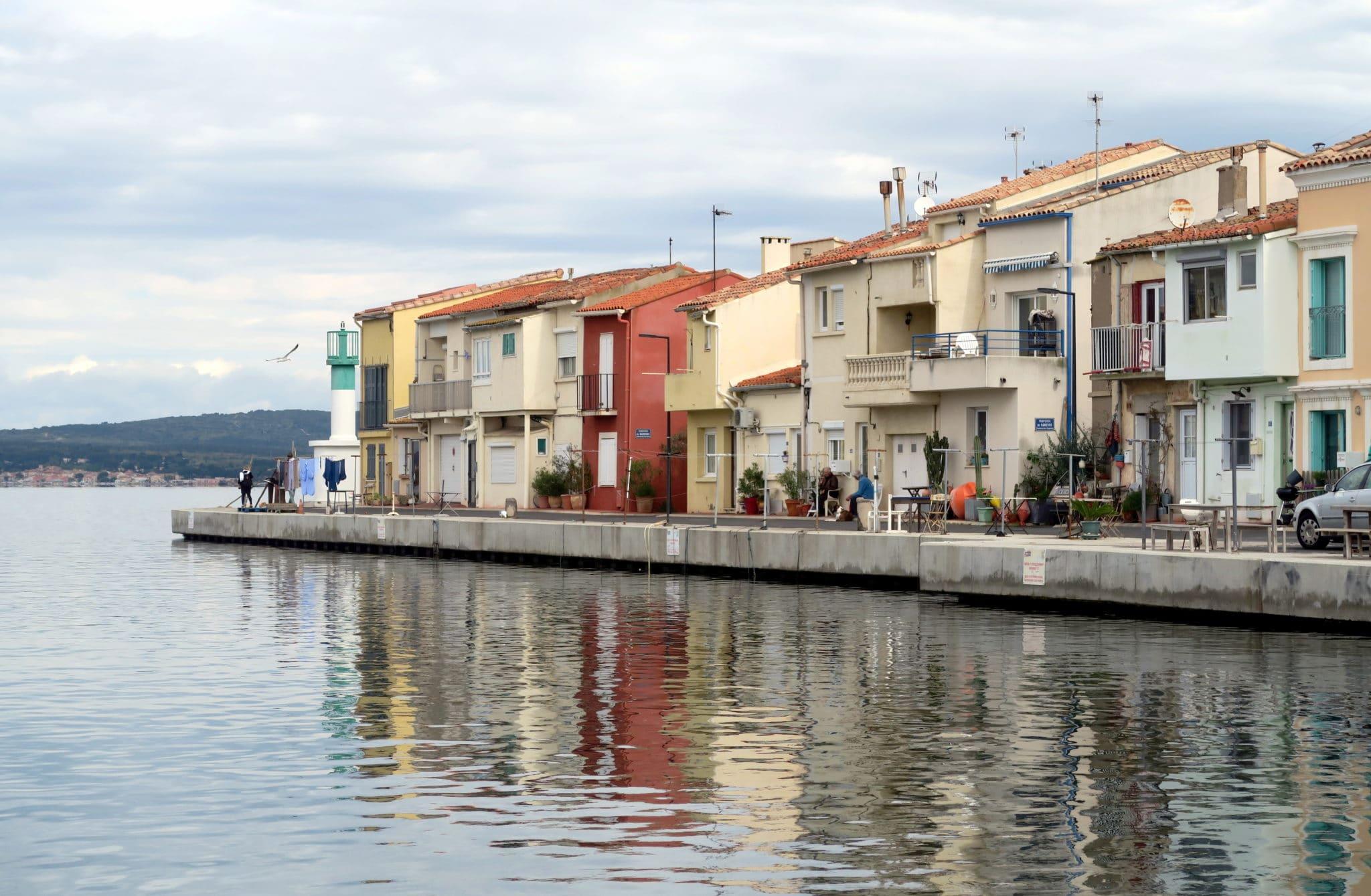 Sète canals France