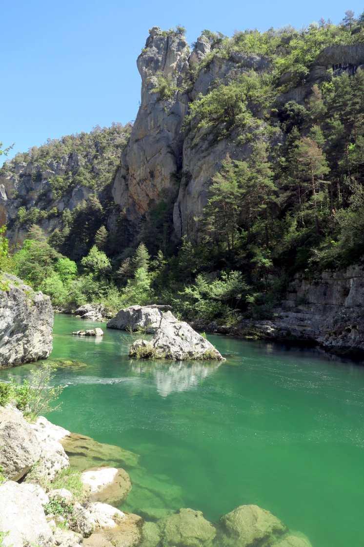 Pas de Soucy dive site Gorges du Tarn France