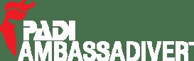 PADI Ambassadiver logo