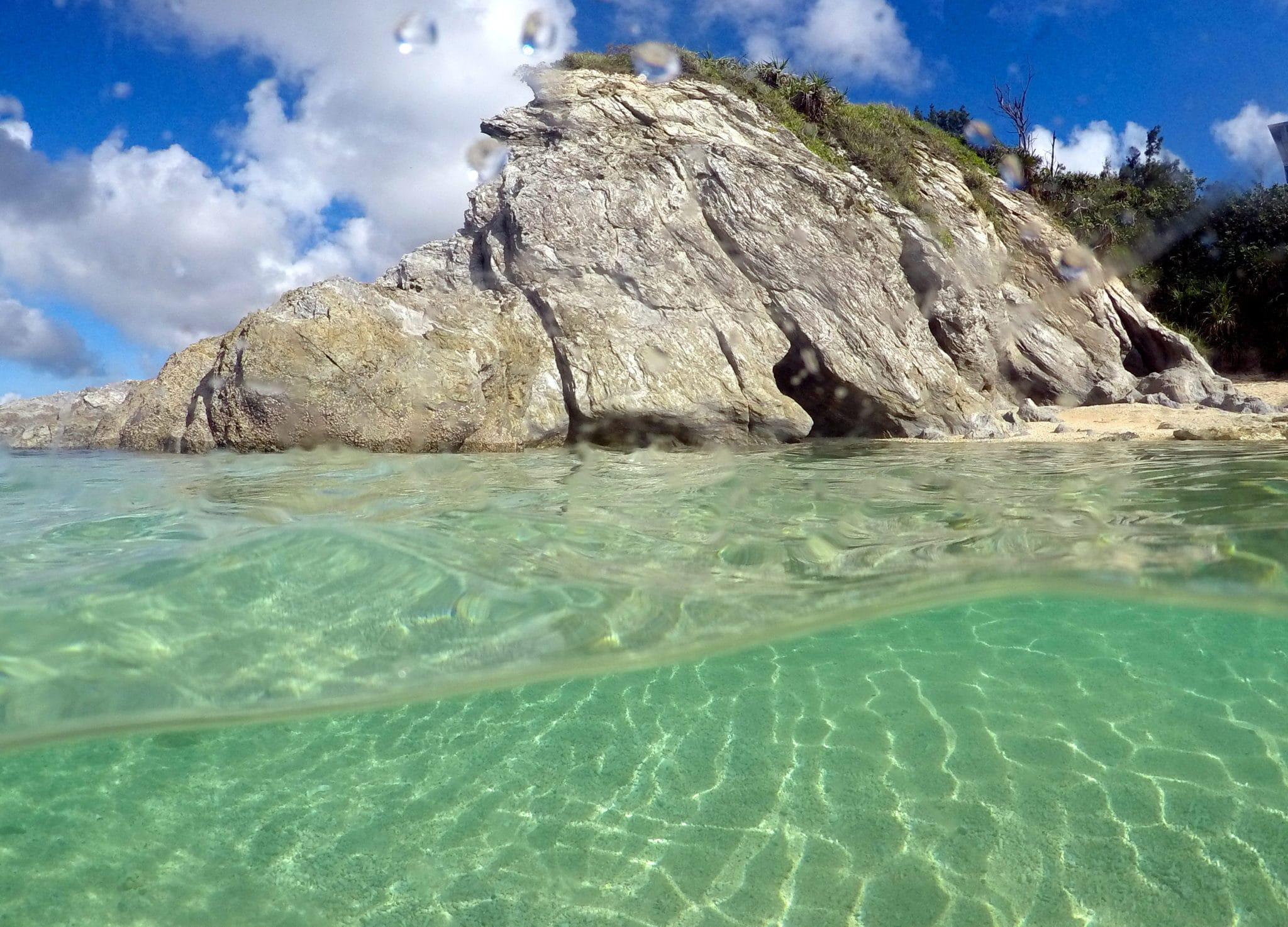Diamod Beach Onna Okinawa Japan