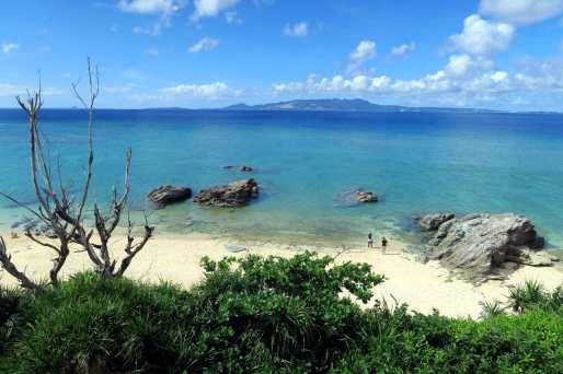 Diamod Beach Onna Okinawa Japan