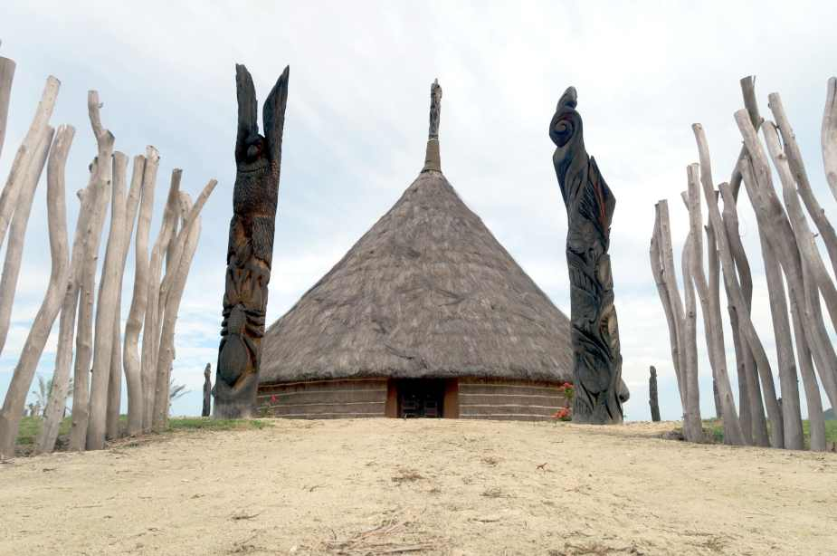 Great Hut of Deva Domain Bourail New Caledonia