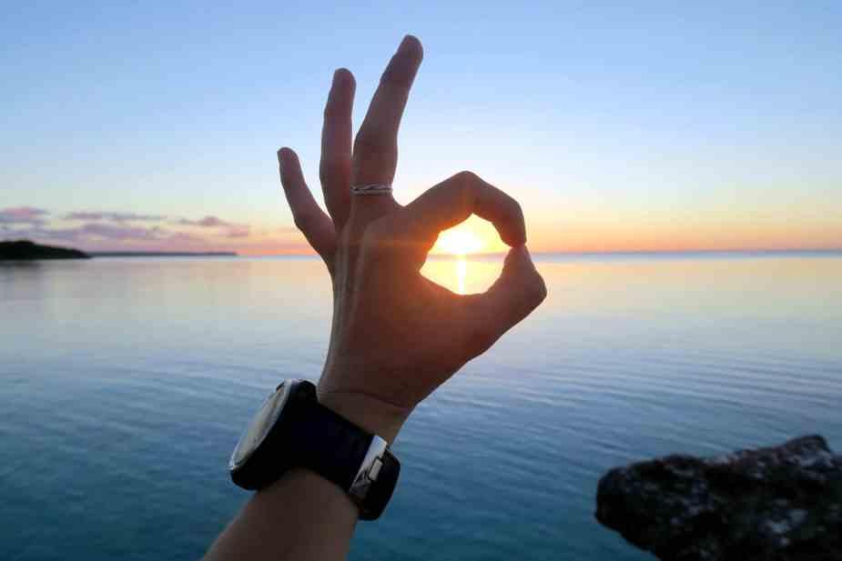sunset Lifou New Caledonia