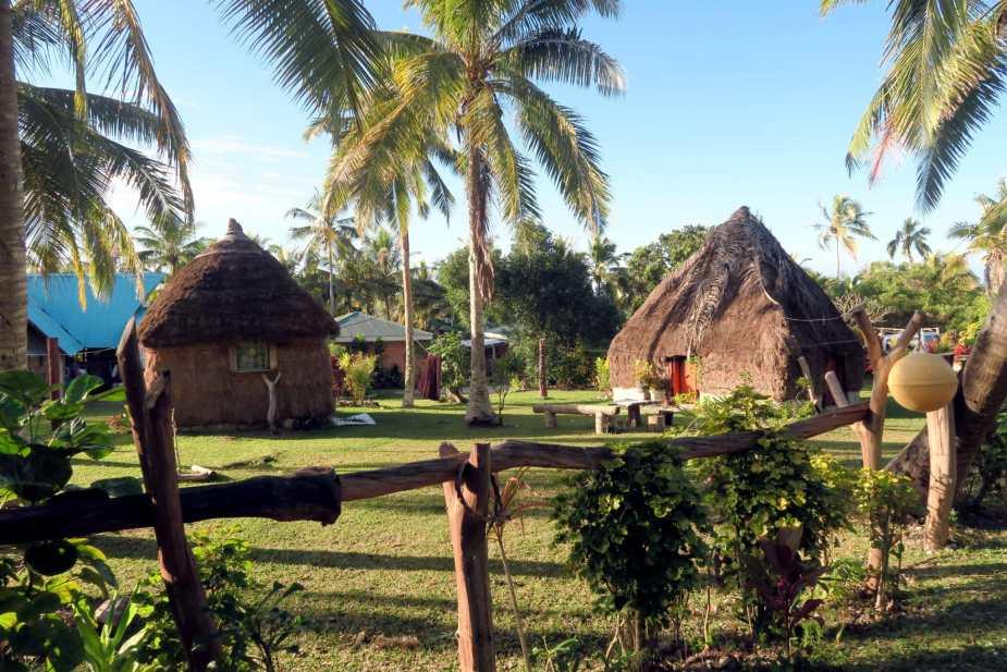 Village in Lifou New Caledonia