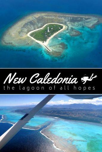New Caledonia Lagoon pin1