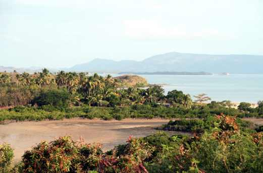 Road from Koumac to Poingam New Caledonia