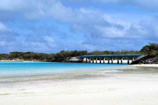 Mouli Bridge Ouvea New Caledonia