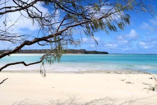 Lekiny Cliffs Ouvea New Caledonia