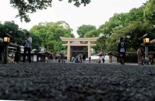 Meiji Shrine Harajuku Tokyo Japan
