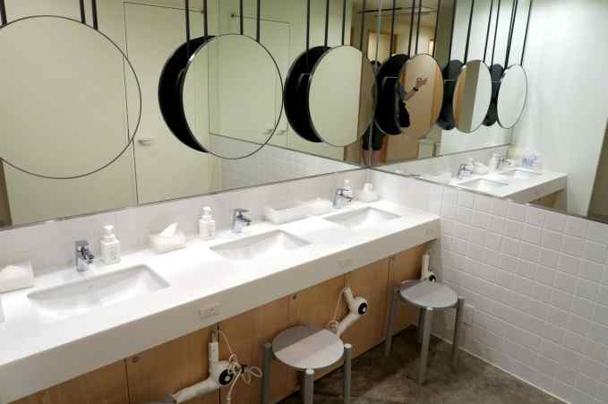 Shared Bathroom Lyuro Hotel Tokyo Japan