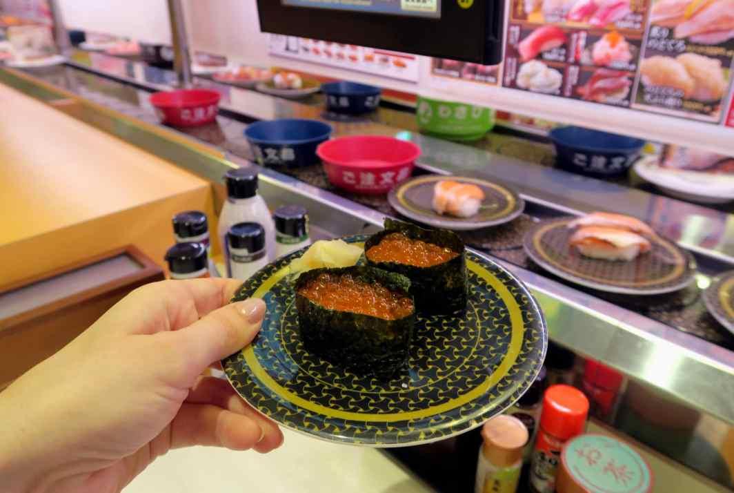 Kaiten sushi Tokyo Japan