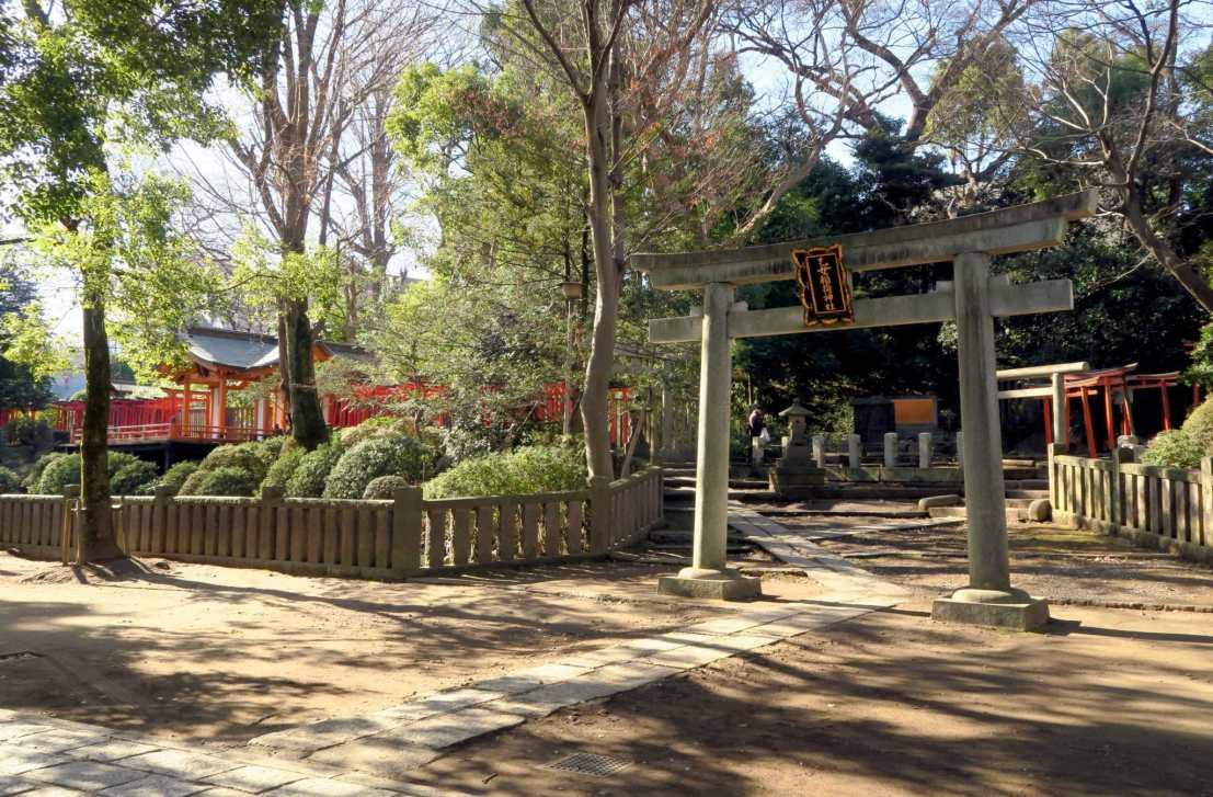 Nezu Shrine Tokyo Japan
