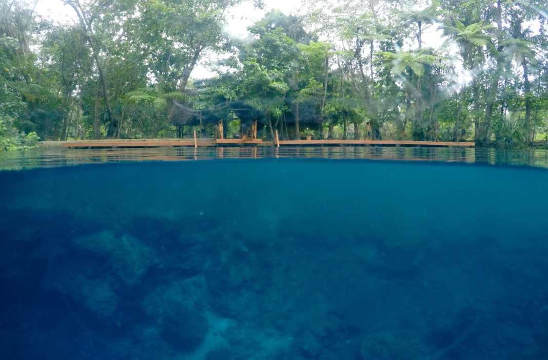 Nanda Blue Hole Santo Vanuatu