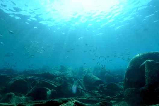 Million Dollar Point Wreck diving Vanuatu