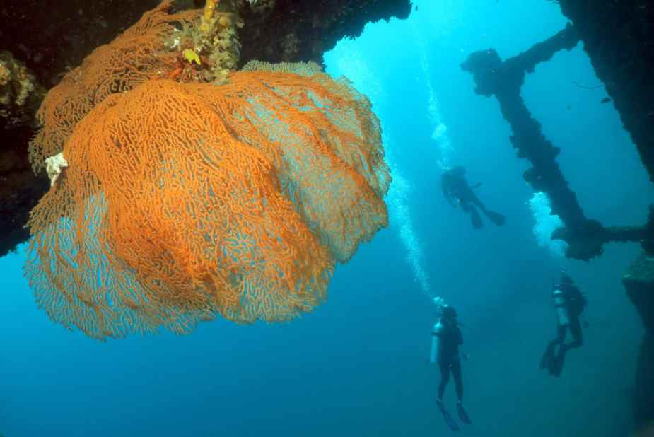 SS President Coolidge Wreck diving Vanuatu