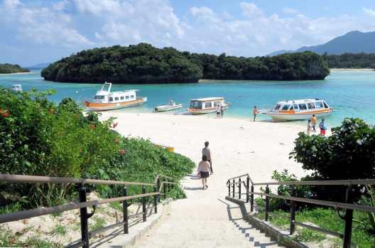 Kabira Bay Ishigaki Okinawa Japan
