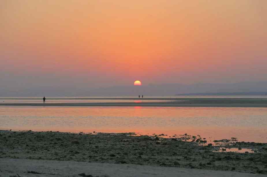 Sunset Taketomi jima Okinawa Japan