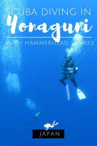 Scuba diving in Yonaguni