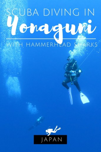 Scuba diving in Yonaguni