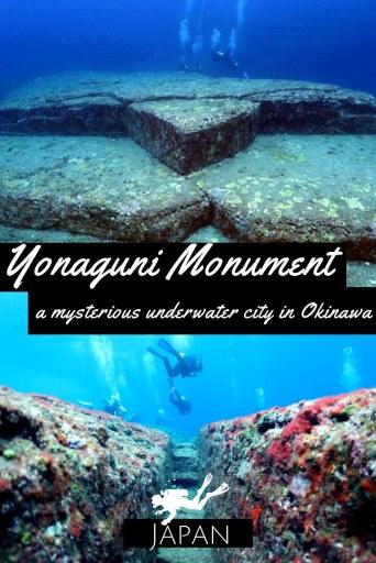 Yonaguni Monument Mysterious Underwater City in Okinawa Japan