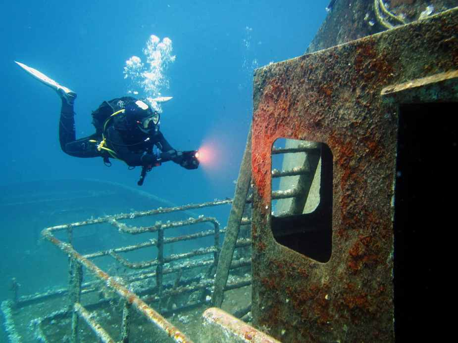 Wreckdiving in Malta