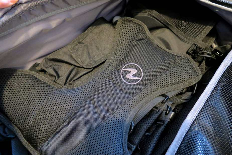 Packing Outlaw Rogue BCD for travel