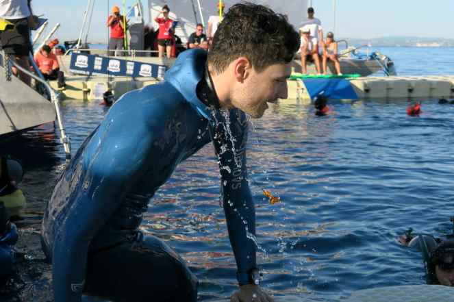 Arnaud Jerald AIDA Depth world championships 2019 Villefranche