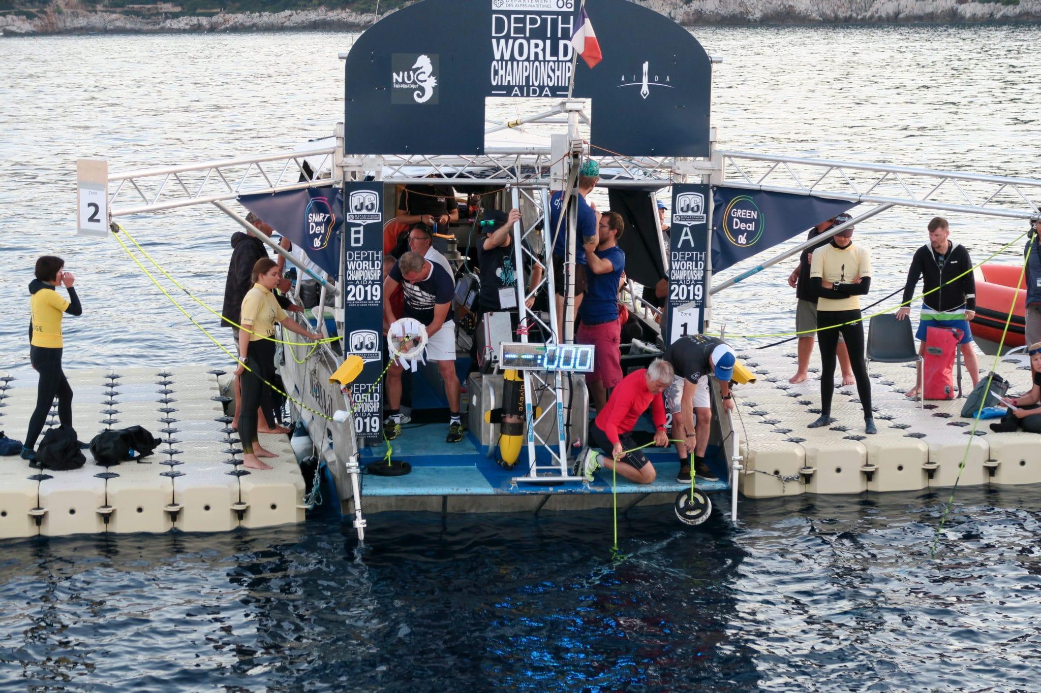 AIDA Depth world championships 2019 Villefranche
