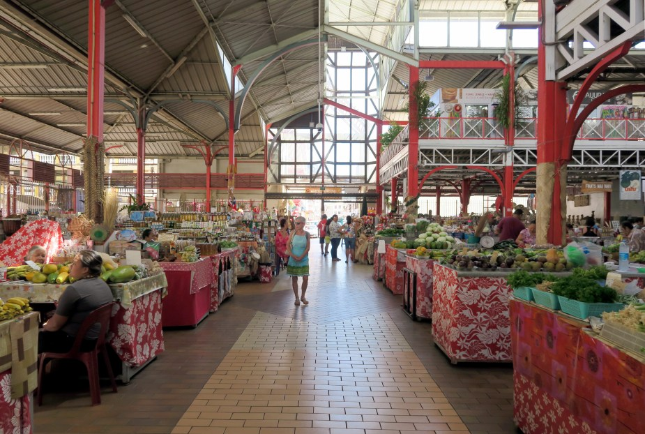 Papeete Central Market Tahiti - fun things to do in French Polynesia